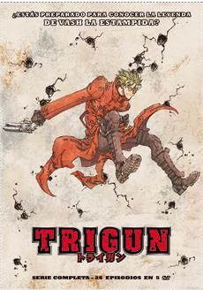 DVD TRIGUN ED. INTEGRAL (5 DVD)