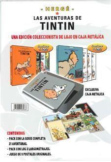DVD TINTIN ED. COLECC. CAJA METALICA ( 8 DVD)