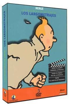 DVD TINTIN ED. LOS LARGOMETRAJES (3 DVD)