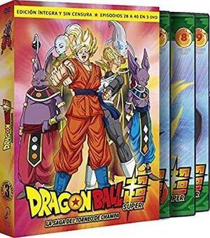 DRAGON BALL SUPER BOX 3 DVD - LA SAGA DEL TORNEO DE CHAMPA