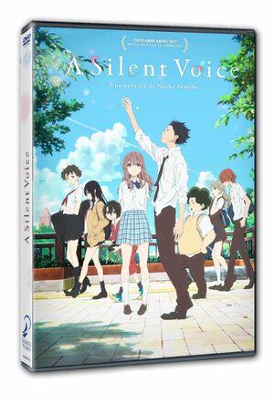 A SILENT VOICE DVD
