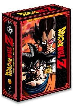 DVD DRAGON BALL Z SAGAS COMPLETAS BOX 1