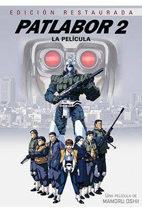 PATLABOR. LA PELICULA 2 DVD (EDICION REMASTERIZADA 25 ANIVERSARIO)