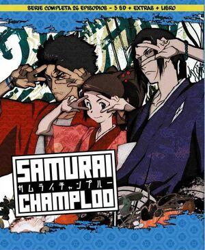 SAMURAI CHAMPLOO. EDICION COLECCIONISTA. BLU-RAY