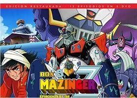 MAZINGER Z BOX 8 (3 DVD) (EDICION RESTAURADA)