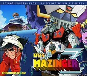 MAZINGER Z BOX 8 (2 BD) (EDICION RESTAURADA)