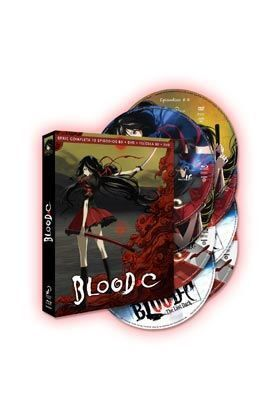 BLOOD C SERIE COMPLETA + PELICULA (COMBO 8 DISCOS)