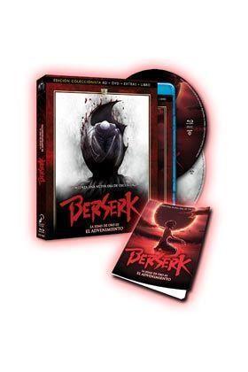 BERSERK LA EDAD DE ORO III BD+DVD+LIBRO