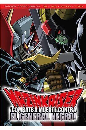 MAZINKAISER CONTRA EL GENERAL NEGRO (2 DVD)