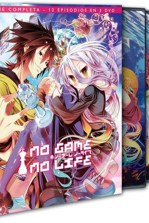 NO GAME - NO LIFE TEMP 1 (3 DVD)