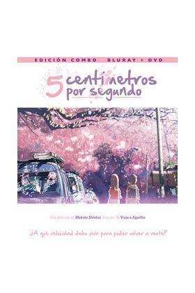 5 CENTIMETROS POR SEGUNDO COMBO BD+DVD