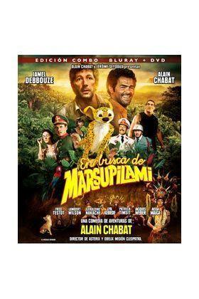 EN BUSCA DE MARSUPILAMI COMBO BD+DVD