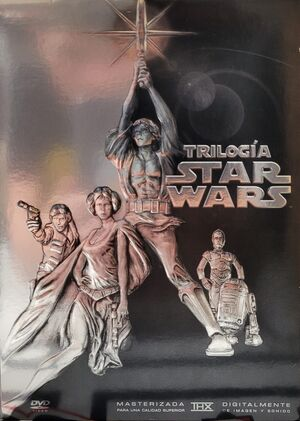 SALDO - DVD TRILOGIA STAR WARS
