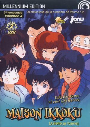 DVD MAISON IKKOKU 1ª TEMP VOL.4 MILLENNIUM EDITION