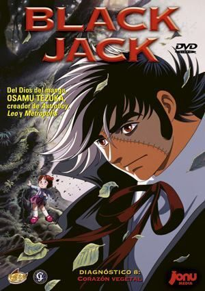 DVD BLACK JACK #08: CORAZON VEGETAL
