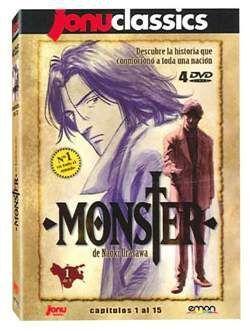 DVD MONSTER BOX VOL.1 (4 DVD) - JONU CLASSICS