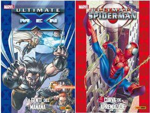 PACK ULTIMATE #03 Y #04 ( X-MEN 1 + SPIDERMAN 2)