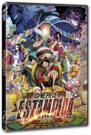 ONE PIECE DVD ESTAMPIDA