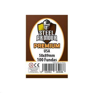 FUNDAS STEEL ARMOUR USA PREMIUM 58X89 (100)