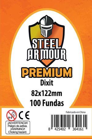 FUNDAS STEEL ARMOUR DIXIT PREMIUM 82X122 MM (100)
