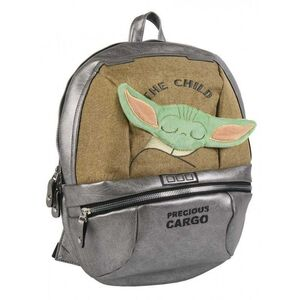 STAR WARS THE MANDALORIAN MOCHILA CASUAL POLIPIEL BABY YODA DURMIENDO