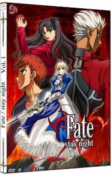 DVD FATE/STAY NIGHT VOL. 01 - CAJA METALICA (2 DVD)