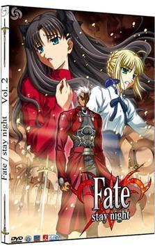 DVD FATE/STAY NIGHT VOL. 02 - CAJA METALICA (2 DVD)