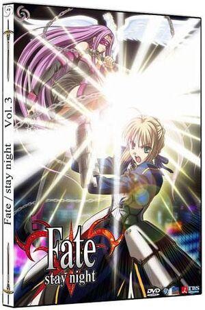 DVD FATE/STAY NIGHT VOL. 03 - CAJA METALICA (2 DVD)