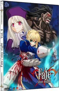 DVD FATE/STAY NIGHT VOL. 04 - CAJA METALICA (2 DVD)