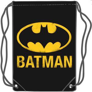 BATMAN SACO GYM NEGRO DC COMICS