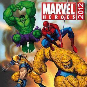 CALENDARIO 2012 MARVEL HEROES