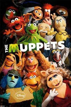 MUPPETS POSTER CHARACTERS 61 X 91 CM