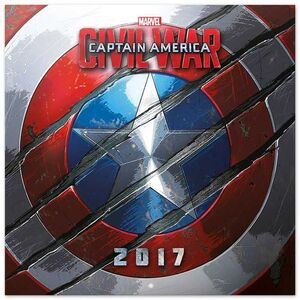 CALENDARIO 2017 CAPITAN AMERICA CIVIL WAR MARVEL