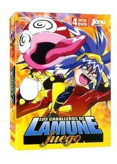 DVD LOS CABALLEROS DE LAMUNE: FUEGO (4 DVD)