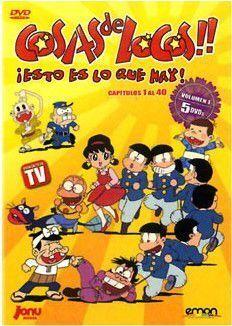 DVD COSAS DE LOCOS VOL. 01 - (5 DVD)