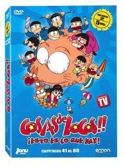 DVD COSAS DE LOCOS VOL. 02 - (5 DVD)