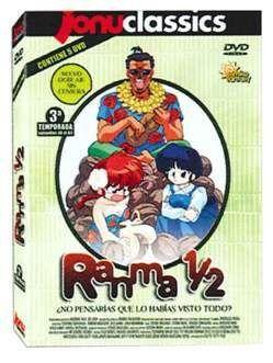 DVD RANMA 1/2 - JONU CLASSICS - 3ª TEMP (5 DVD)