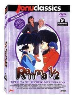 DVD RANMA 1/2 - JONU CLASSICS - 5ª TEMP (7 DVD)