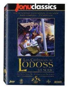 DVD LAS CRONICAS DE LODOSS - SERIE COMPLETA (5 DVD) - JONU CLASSICS
