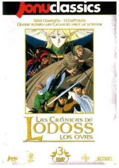 DVD LAS CRONICAS DE LODOSS - LOS OVAS JONU CLASSICS (3 DVD)