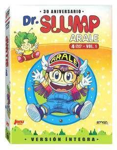 DVD DR. SLUMP - ARALE VOL.01 DIGIPACK (4 DVD)