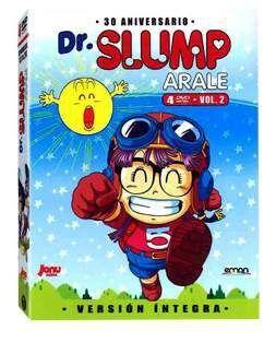 DVD DR. SLUMP - ARALE VOL.02 DIGIPACK (4 DVD)