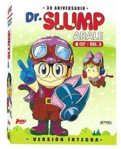 DVD DR. SLUMP - ARALE VOL.03 DIGIPACK (4 DVD)