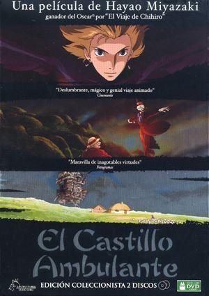 DVD EL CASTILLO AMBULANTE (2 DVD CAJA METALICA)