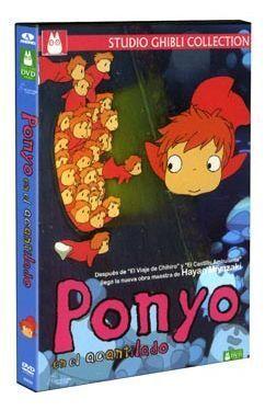 DVD PONYO EN EL ACANTILADO (1 DVD)