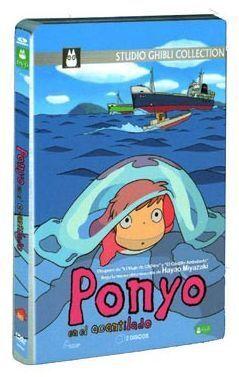 DVD PONYO EN EL ACANTILADO - CAJA METALICA (2 DVD)