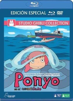 PONYO EN EL ACANTILADO COMBO BLU·RAY+DVD