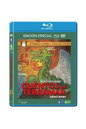CUENTOS DE TERRAMAR COMBO BLU RAY DVD