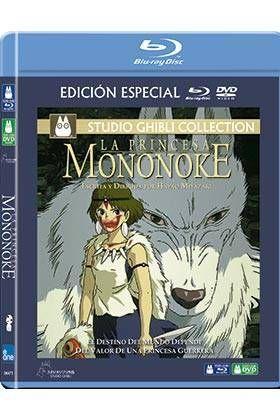 LA PRINCESA MONONOKE COMBO (BD+DVD)