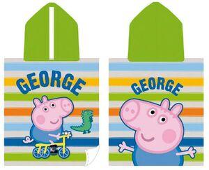 PEPPA PIG TOALLA (PONCHO) GEORGE 115 X 50 CM